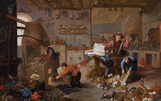 The Alchemist by Mattheus van Helmont