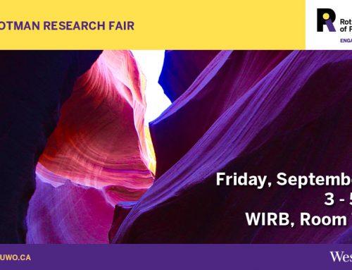 2018 Rotman Research Fair