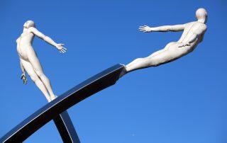 Discovery sculpture - Rotman Institute panel CRISPR