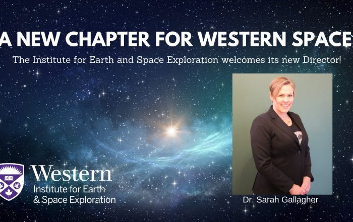 Space Institute welcome Sarah Gallagher as director