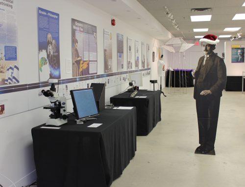 Einstein Exhibit Closing Reception — Saturday, Dec. 12th, 12:00 – 5:00 pm