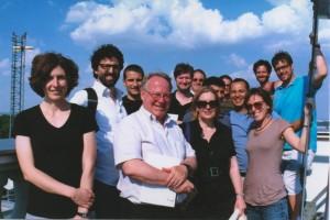 VISU Group at ZAMG. (Photo courtesy of Marina Pacchetti)