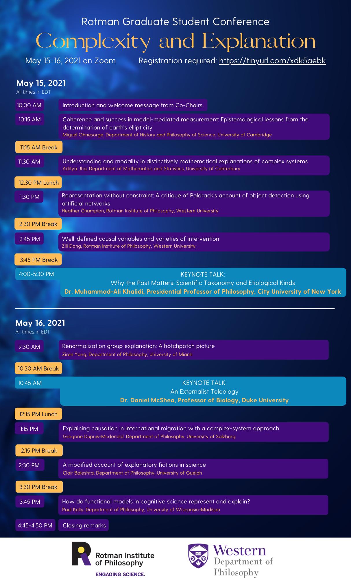 RGSC2021 conference program